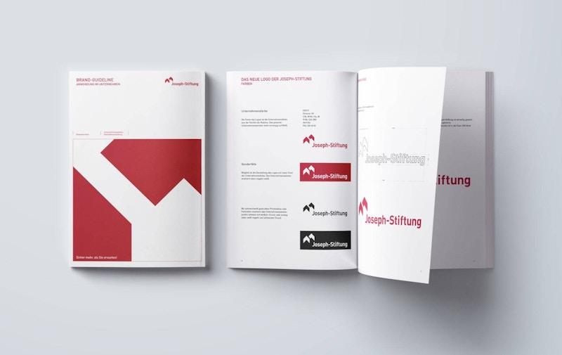Corporate Design Handbuch für die Joseph Stiftung Bamberg, kirchliches Wohnungsunternehmen · zellenkur bamberg