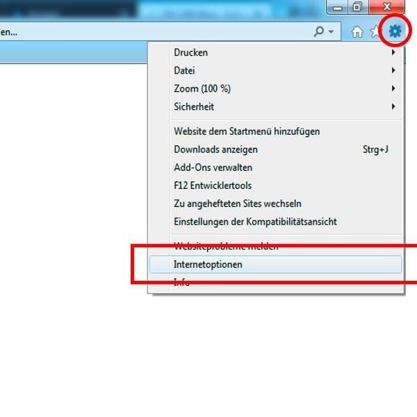 Internet Explorer: Cache Browser löschen