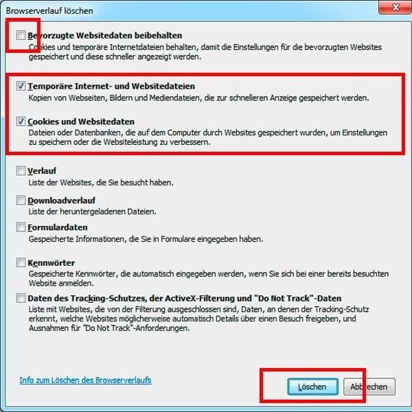 Internet Explorer Browser Cache löschen - so gehts