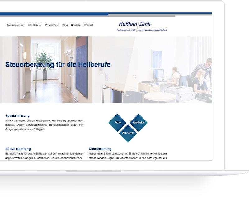 Die Webseite zur Gewinnung von neuen Mandanten spielt eine wesentliche Rolle im Kanzleimarketing
