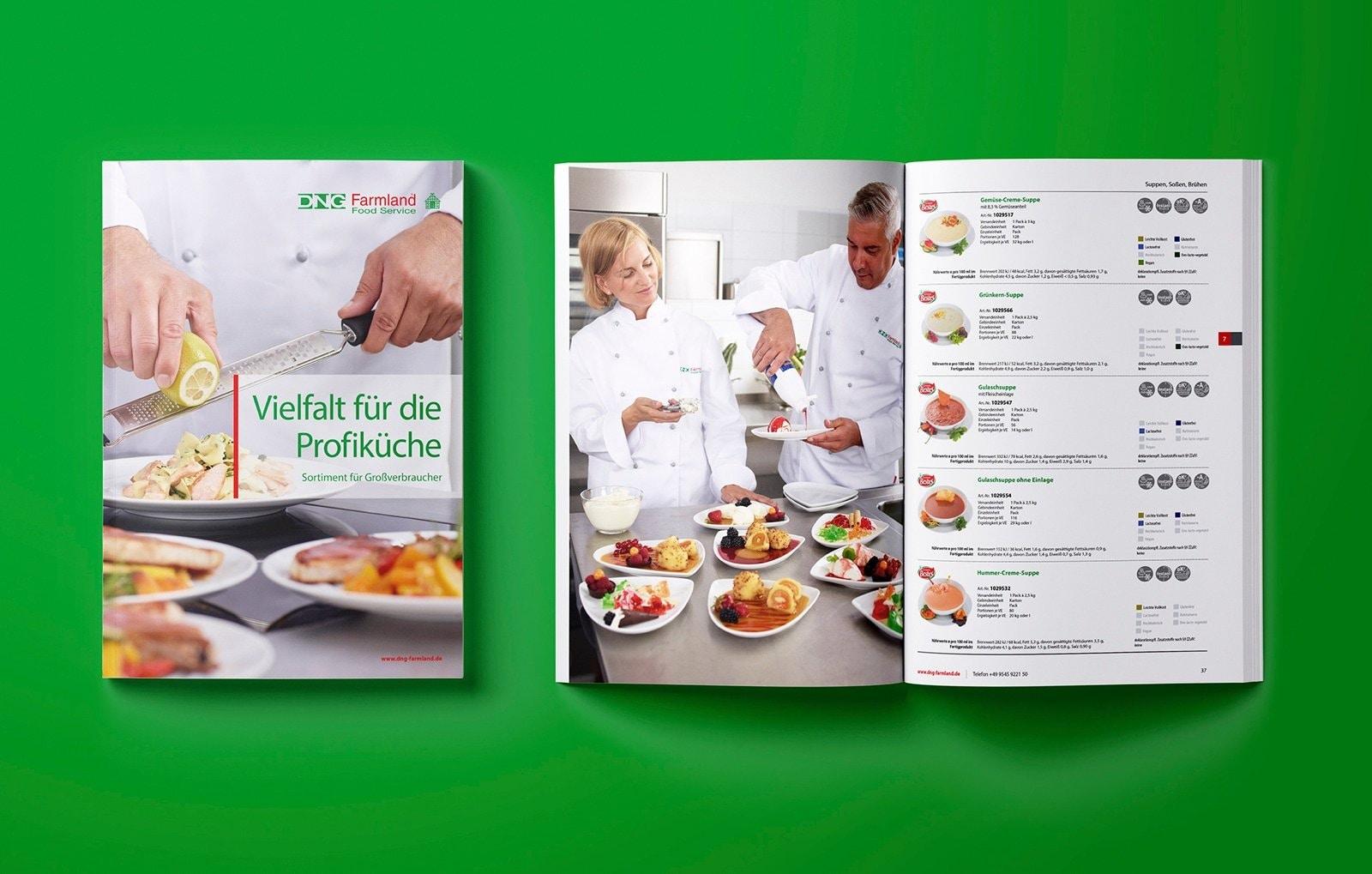 Das Handwerkszeug für den Vertrieb. Verkaufsstarke Kataloge. Design und Konzept, Zellenkur Bamberg
