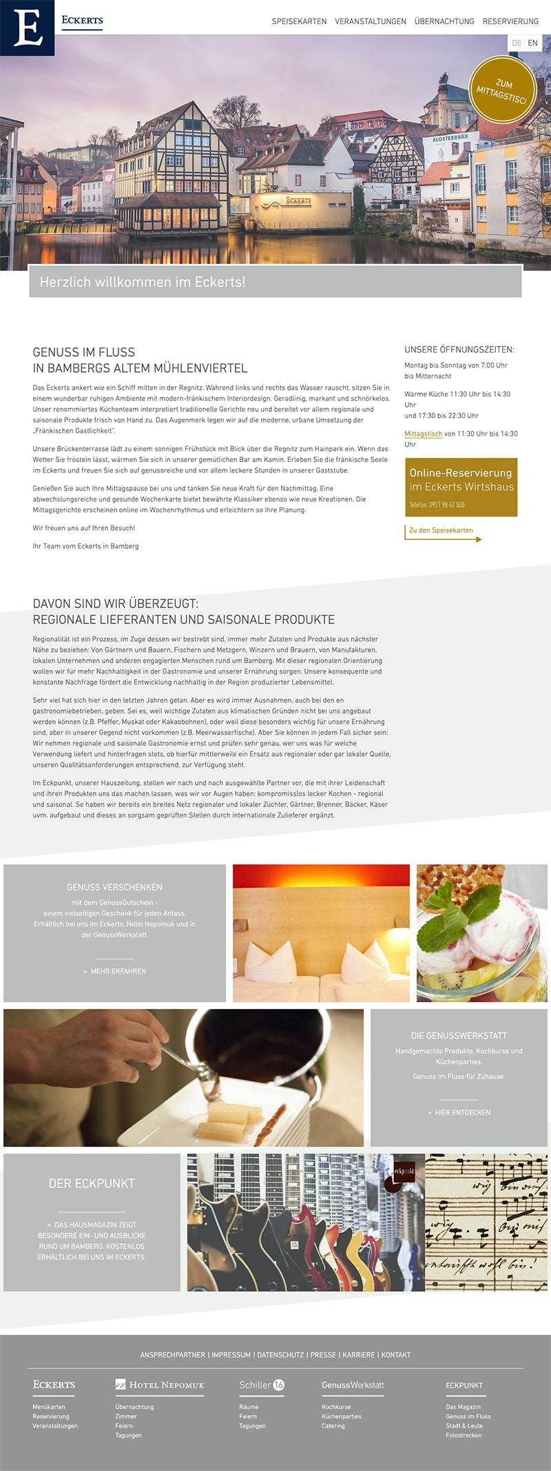 Verwaltung mehrerer Webseiten mit einem CMS