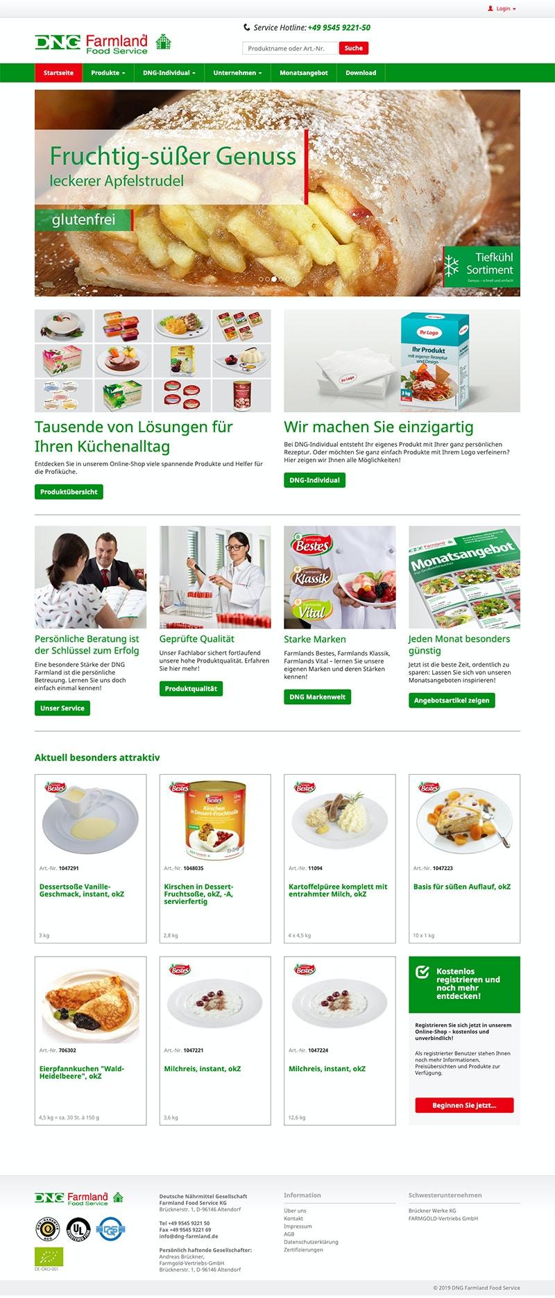 E-Commerce Branchenlösung für den Großhandel mit OXID